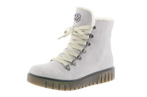Rieker Y3432-40 Off white lace zip boot Sizes - 37 to 41 Price - £62.00 NOW £55.00