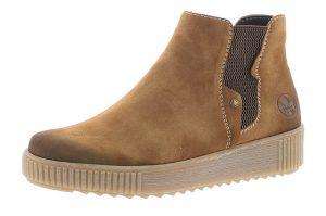 Rieker Y6461-24 Tan velour jodphur boot Sizes - 37 to 42 Price - £55.00 NOW £49.00