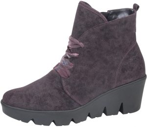 Waldlaufer 317806 Hiki Purple suede lace boot   Sizes - 4 only.  Price - £92 Now £59