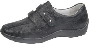 Waldlaufer 496301 Henni Black west velcro shoe Sizes - 5 to 8 Price - £75.00