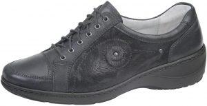Waldlaufer 607012 Kya Black multi K Fit lace shoe Sizes - 5 to 8 Price - £75