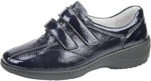 Waldlaufer 607302 Kya Black patent K Fit velcro shoe Sizes - 4 to 7 Price - £75.00