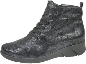Waldlaufer 905802 Hivea Navy multi lace/zip boot   Sizes - 5 and 5.5 only.    Price - £92 NOW £69