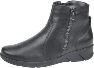 Waldlaufer 905806 Hivea Black leather twin zip ankle boot Sizes - 4.5 to 7 Price - £92.00 NOW £79.00