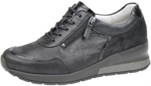 Waldlaufer 939008 H Clara Black combi lace zip shoe Sizes - 4 to 7 Price - £72.00 NOW £65.00