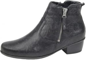 Waldlaufer 967803 Haifi Black west twin zip ankle boot Sizes - 4.5 to 7 Price - £92.00 NOW £79.00