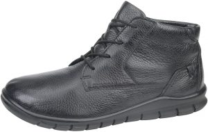 Waldlaufer Mens 366801 Hector Black nubuck lace zip boot Sizes 8 to 10.5 Price - £109.00 NOW £89.00