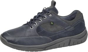 Waldlaufer Mens 924011 Hanson Navy multi Wide fit lace shoe Sizes - 7.5 to 10 Price - £79.00 NOW £69.00