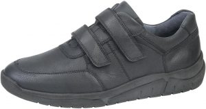 Waldlaufer Mens 924301 Hanson Navy Velcro Wide fit shoe Sizes - 7 to 10 Price - £79.00 NOW £69.00