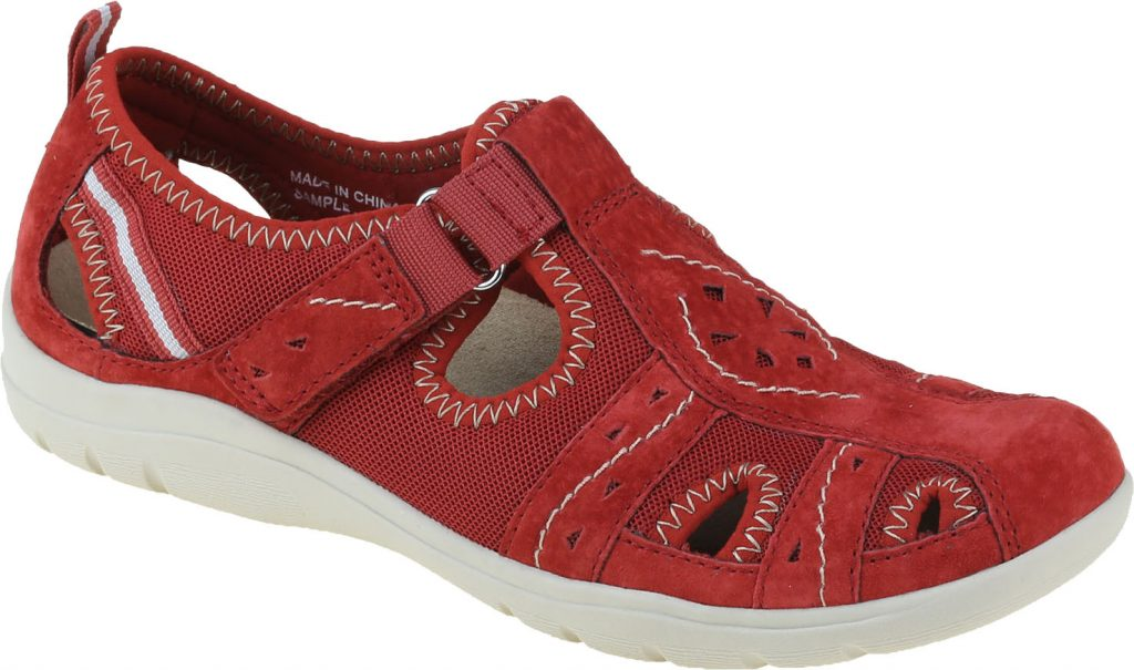 Earth Spirit 30200 Cleveland Cardinal red T bar shoe   Sizes - 3 to 7  Price - £45