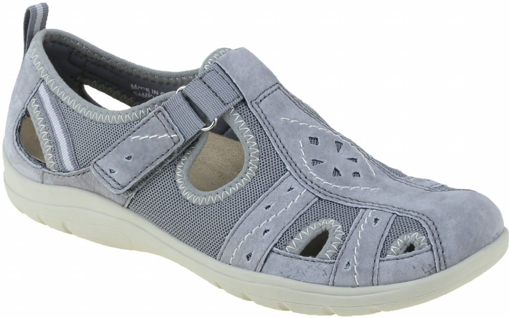 Earth Spirit 30202 Cleveland Frost grey T bar shoe   Sizes - 3, 4, 5 and 6.    Price - £45