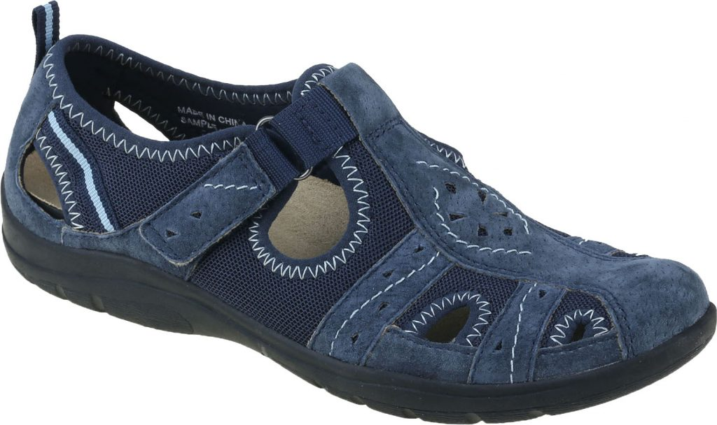 Earth Spirit 30201 Cleveland Navy blue T bar shoe  Sizes - 4, 5 and 6.  Price - £45