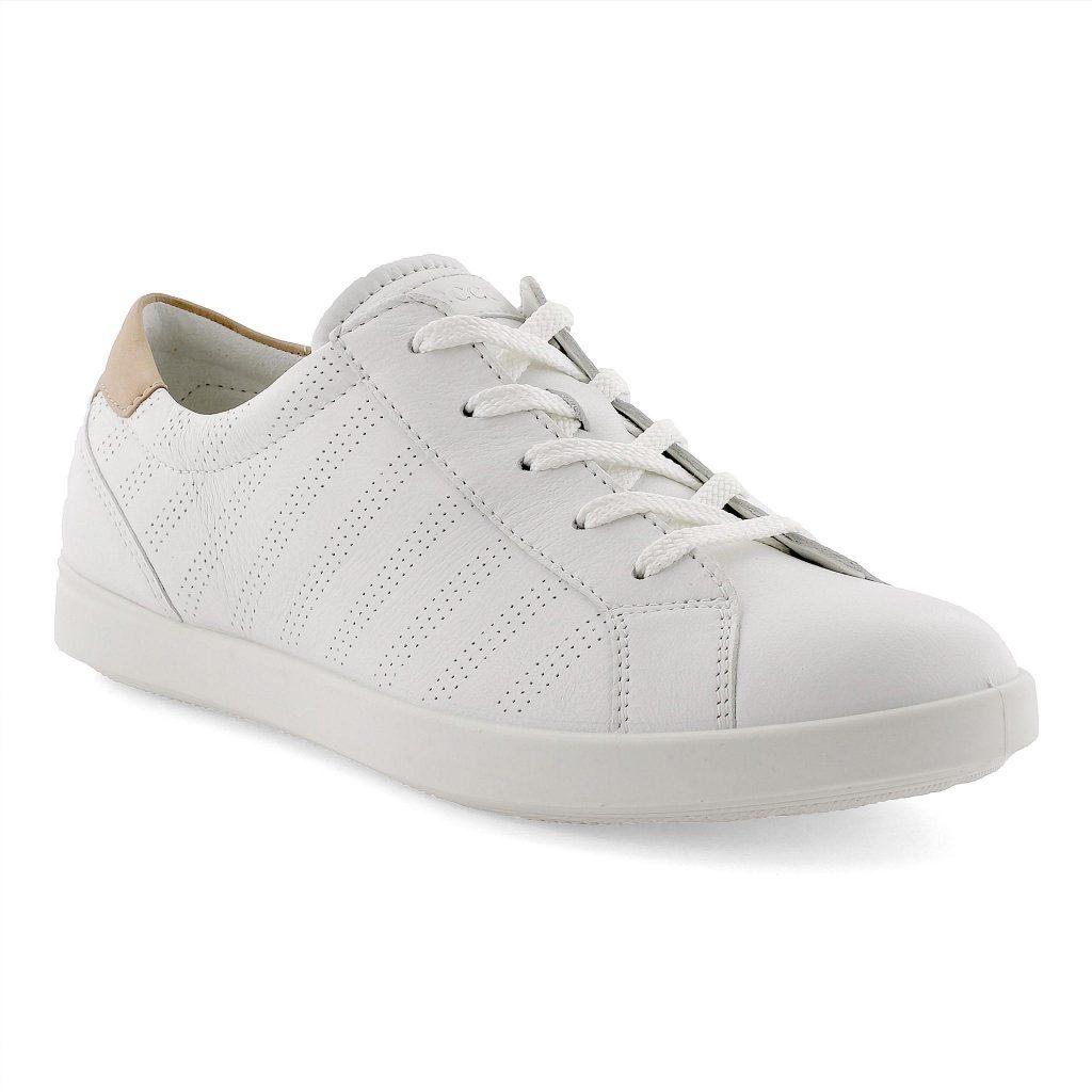 Ecco 205033 Leisure white lace shoe Sizes - 37 to 41 Price - £90.00