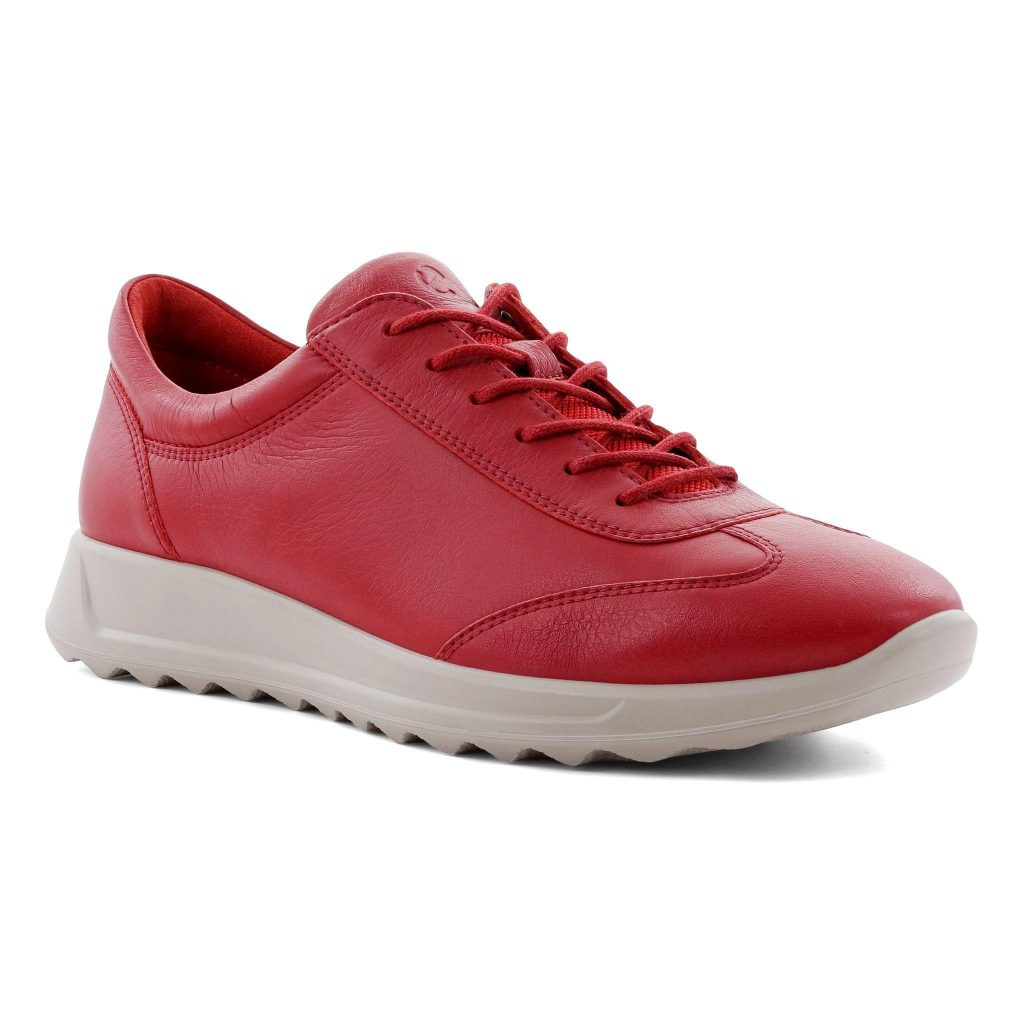Ecco 292333 Flexure Chilli red lace shoe Sizes - 37 to 42 Price - £100.00 (15% OFF) £85.00