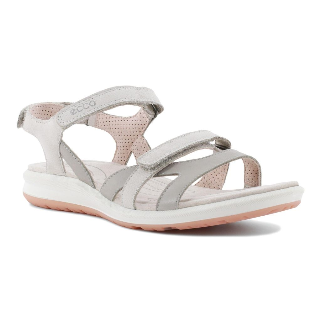 Ecco 821833 Cruise 2 Silver grey strap sandal Sizes - 37 to 41 Price - £85.00