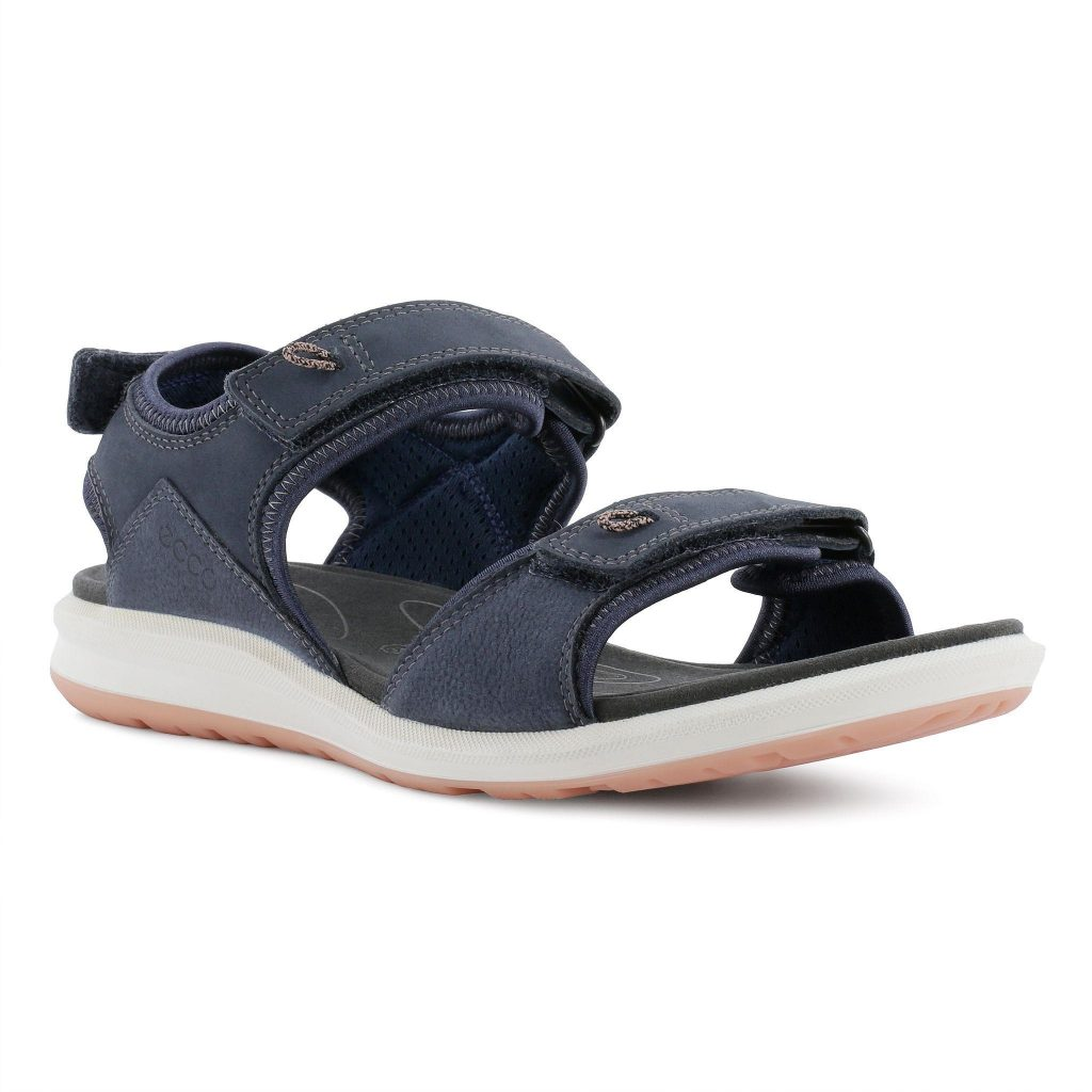 Ecco 821863 Cruise 2 Navy twin strap sandal Sizes - 37 to 42 Price - £90.00 (15% OFF) Now £76.00