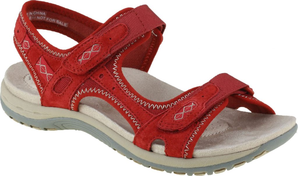 Earth Spirit 30525 Frisco red twin strap sandal  Sizes - 4, 5 and 6.   Price - £39