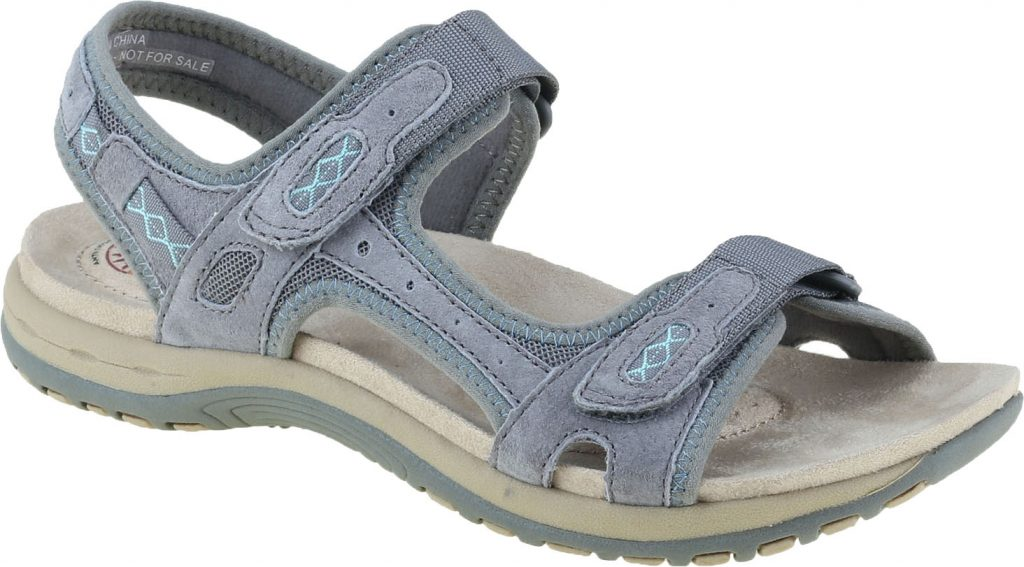 Earth Spirit 30231 Frisco grey twin strap sandal  Sizes - 3, 4, 5, 6 and 8.   Price - £39