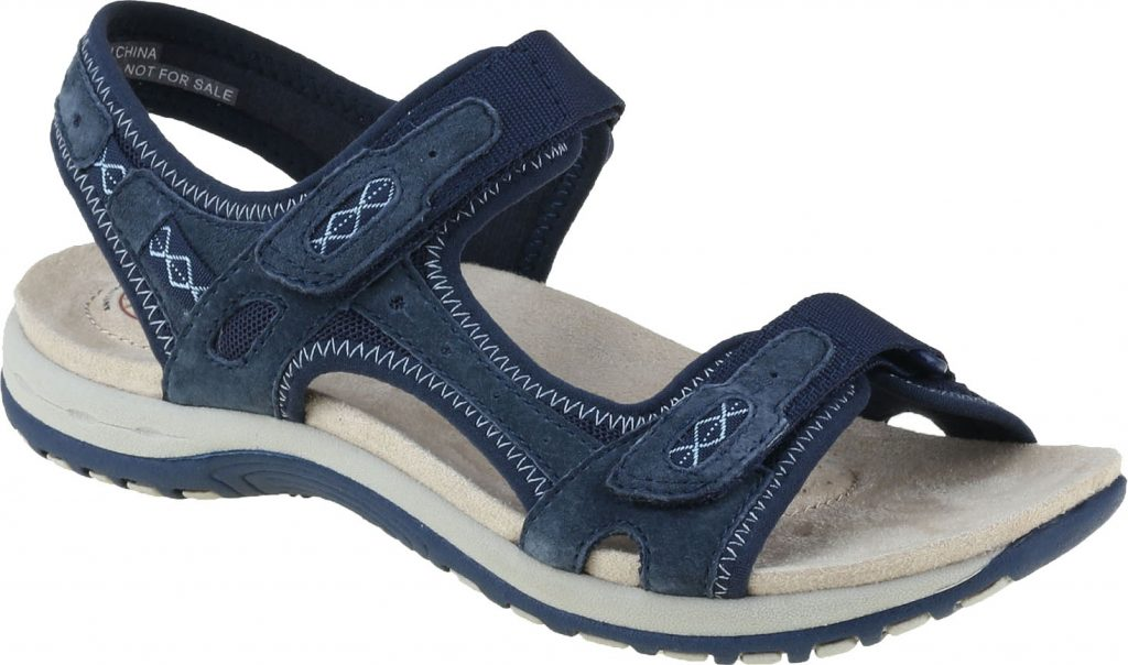 Earth Spirit 30233 Frisco Navy twin strap sandal   Sizes - 4 and 5 only.   Price - £39