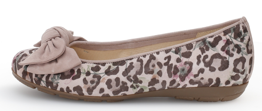 Gabor 44.163.34 Redshank Rose print multi bow pump Sizes - 5 to 7 Price - £95.00 (20% off) Now £76.00