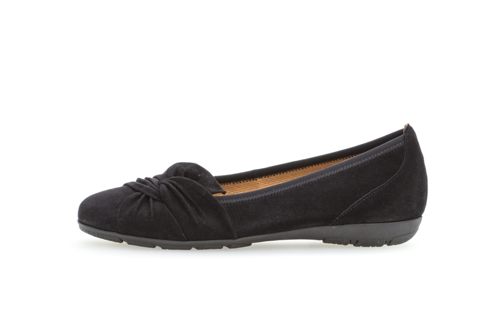 Gabor 44.167.16 Claredon Pacific navy suede pump Sizes - 4 to 7 Price - £85.00