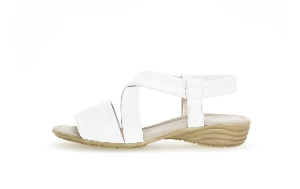 Gabor 44.550.21 Ensign White soft leather sandal Sizes - 4 to 7 Price - £75.00