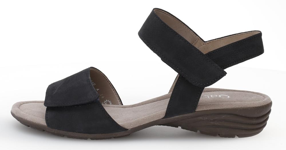 Gabor 44.552.16 Entitled Nightblue nubuck sandal Sizes - 4 to 7 Price - £75.00