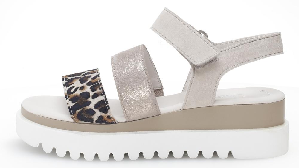 Gabor 44.610.31 Billie Taupe multi strap sandal Sizes - 4 to 7 Price - £85.00
