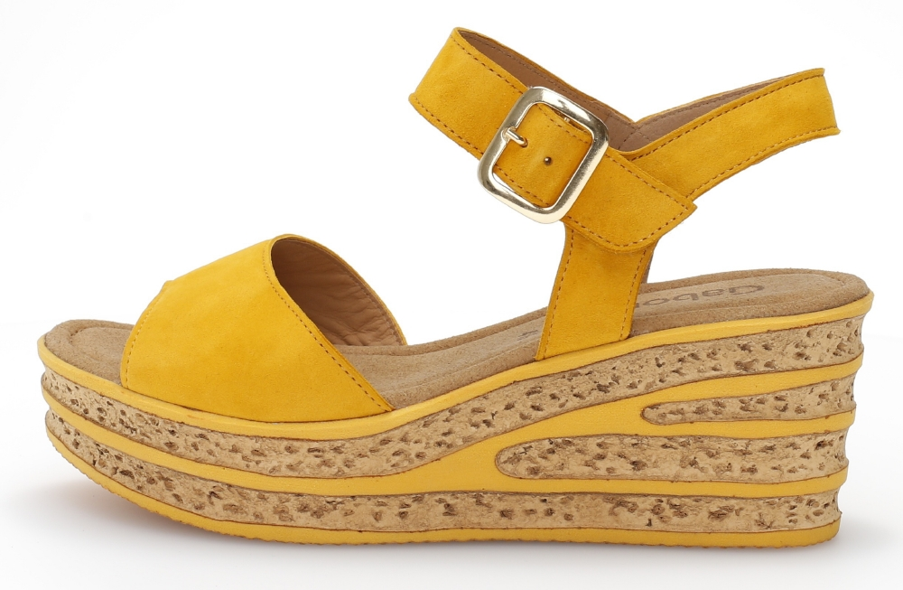 Gabor 44.651.13 Twirl Mango suede wedge sandal Sizes - 4,5 and 6 Price - £75.00 (20% off) now £60.00