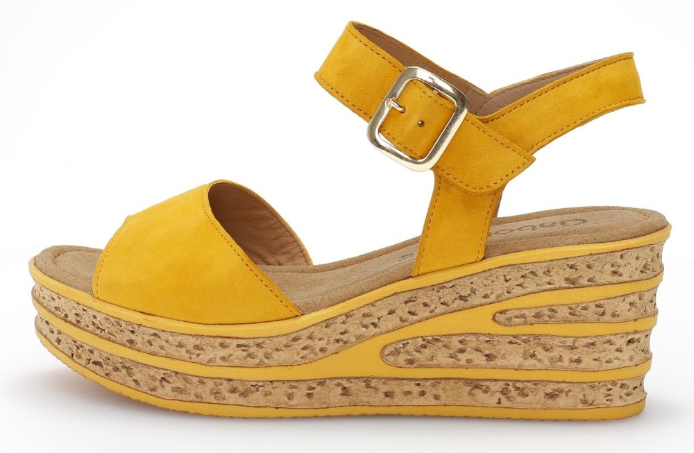 Gabor 44.651.13 Twirl Mango suede wedge sandal Sizes - 4,5 and 6 Price - £75.00