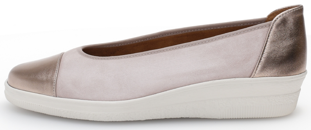Gabor 46.402.35 Petunia Rose Metallic toe wedge Sizes - 4 to 7 Price - £69.00