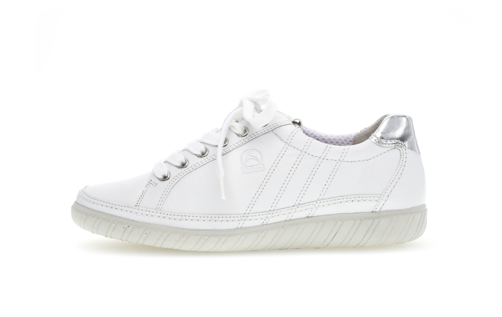 Gabor 46.458.50 Amulet White leather lace shoe Sizes - 4 to 7 Price - £85.00 (20% off) Now £68.00