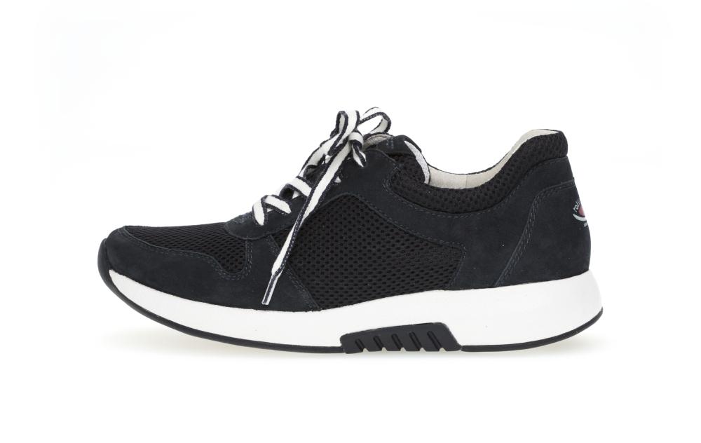 Gabor 46.946.46 Mary Nightblue mesh nubuck lace shoe Sizes - 4 to 7 Price - £95.00 (15% OFF) Now £80.00