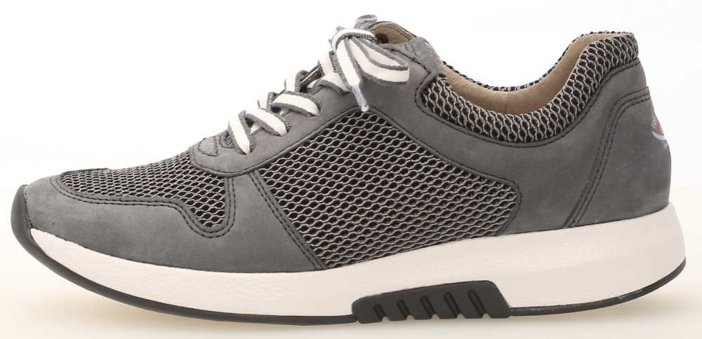 Gabor 46.946.49 Mary Grey mesh nubuck lace shoe Sizes - 4 to 7 Price - £95.00 (20% OFF) Now £76.00