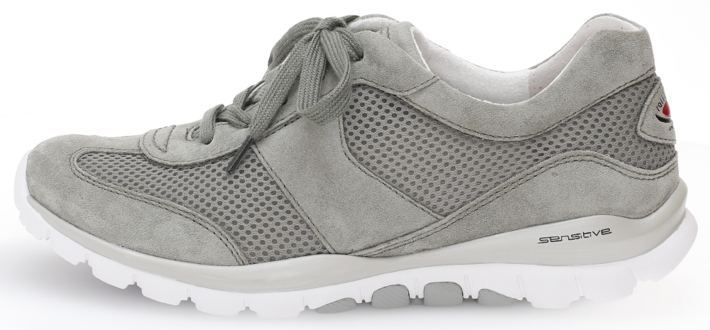Gabor 46.966.44 Helen Silver grey mesh nubuck lace shoe Sizes - 4 to 7 Price - £95.00