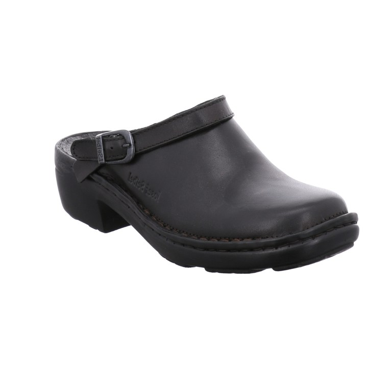 Josef Seibel Betsy black clog Sizes - 37 to 42 Price - £65.00 (20% off) Now £52.00