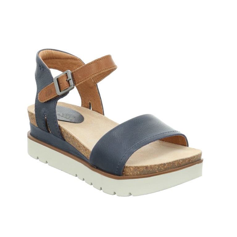 Josef Seibel Clea 01 jeans tan combi sandal Sizes - 37 to 41 Price - £85.00 (20% OFF) Now £68.00