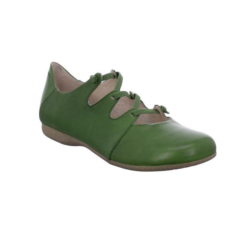 Josef Seibel Fiona 04 india green elastic lace shoe Sizes - 37 to 41 Price - £ 79.00 (20% off) Now £63.00
