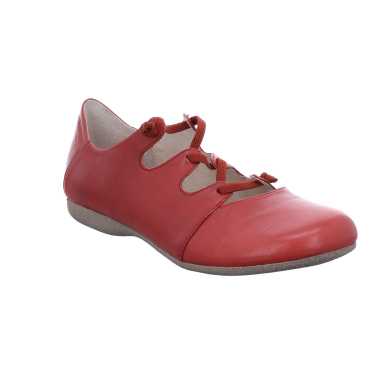 Josef Seibel Fiona 04 rubin red elastic lace shoe Sizes - 36 to 41 Price - £ 79.00 (20% off) Now £63.00