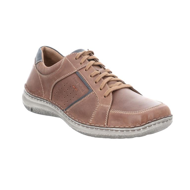 Josef Seibel Mens Anvers 59 brown multi lace shoe Sizes - 41 to 45 Price - £ 89.00