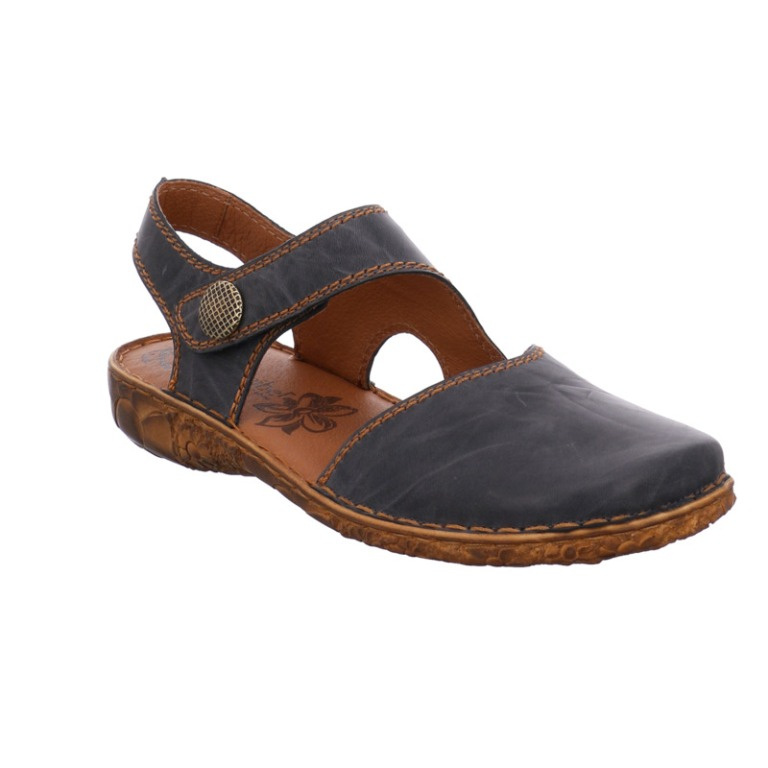 Josef Seibel Rosalie 27 jeans full toe sandal Sizes - 37 to 42 Price - £ 75.00 (20% OFF) Now £60.00