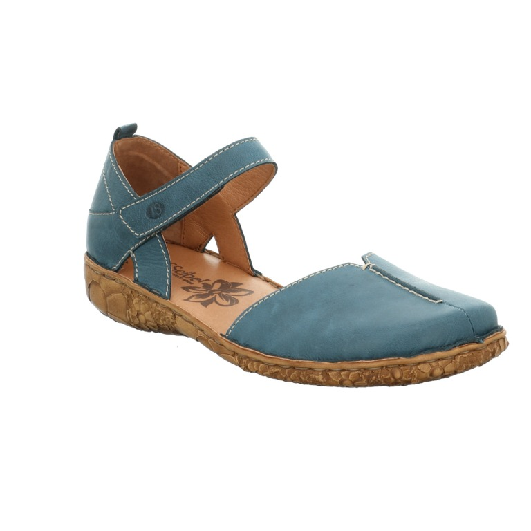 Josef Seibel Rosalie 42 azur blue toe in sandal Sizes - 37 to 42 Price - £ 69.00 (20% OFF) Now £55.00
