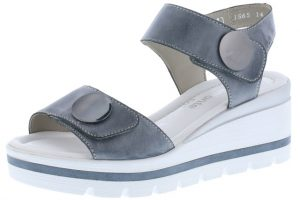 Remonte D1565-14 Blue twin strap sandal  Sizes - 36 to 41  Price - £65.00