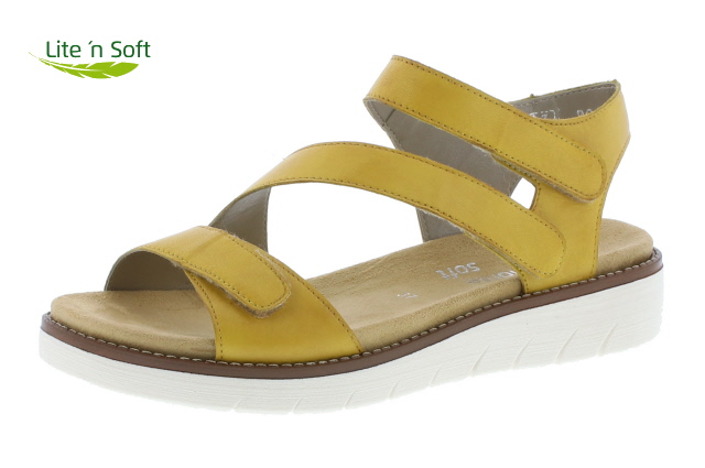 Remonte D2050-68 Yellow 3 strap sandal  Sizes - 37 to 40  Price - £65.00 (20% off) Now £52.00