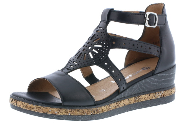 Remonte D3053-01 Black gladiator sandal  Sizes - 37 to 41  Price - £69.00 (20% off) Now £55.00