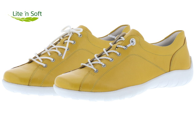 Remonte R3515-68 yellow elastic lace shoe   Sizes - 37 to 41  Price - £67.00 (20% off) Now £53.00