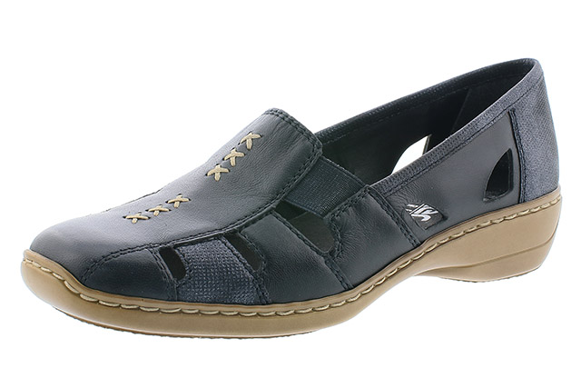 Rieker 41385-14 navy cut out shoe Sizes - 37 to 41 Price - £57.00 (20% off) £41.00