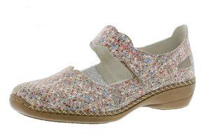 Rieker 413J2-60 beige multi bar shoe Sizes - 37 to 41 Price - £55.00 (15% off) £47.00
