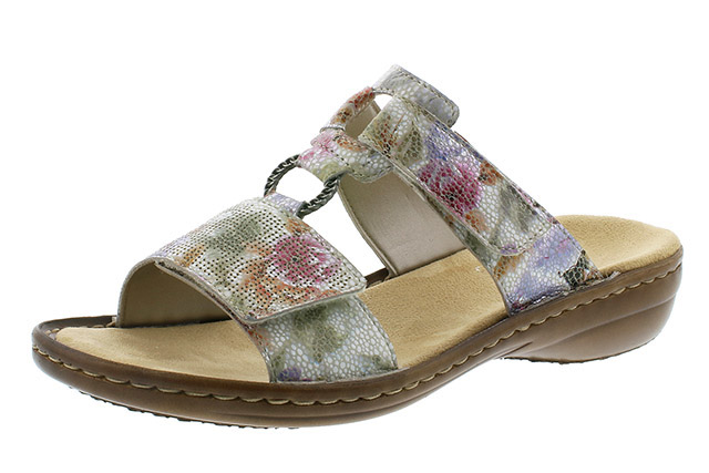 Rieker 60885-90 mosaic multi mule Sizes - 37 to 42 Price - £49.00 (20% off) £39.00