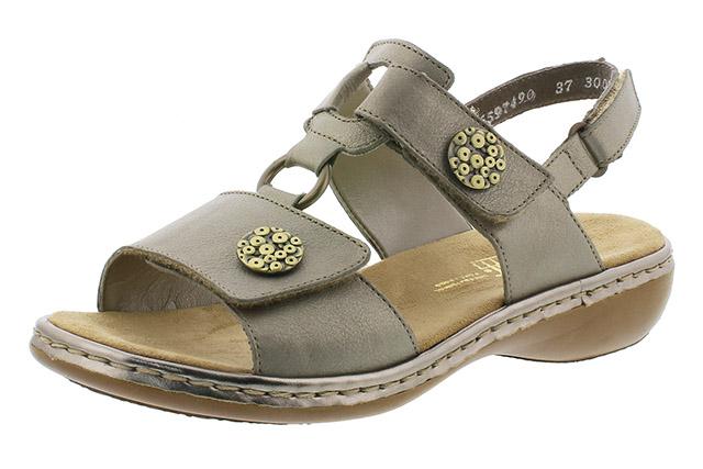Rieker 65974-90 metallic twin strap sandal Sizes - 37 to 41 Price - £59.00 (20% off) £47.00